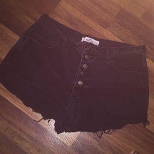 Hollister high rise shorts!